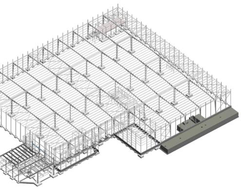 construcción nave industrial Papanut AAM